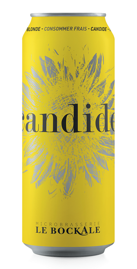 Bière blonde - Candide - Le Bockale